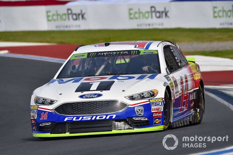 7. Clint Bowyer, Stewart-Haas Racing, Ford Fusion Mobil 1/Advance Auto Parts