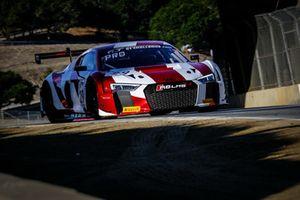 #29 Audi Sport Team Land Motorsport Audi R8 LMS: Christopher Haase, Kelvin van der Linde, Christopher Mies