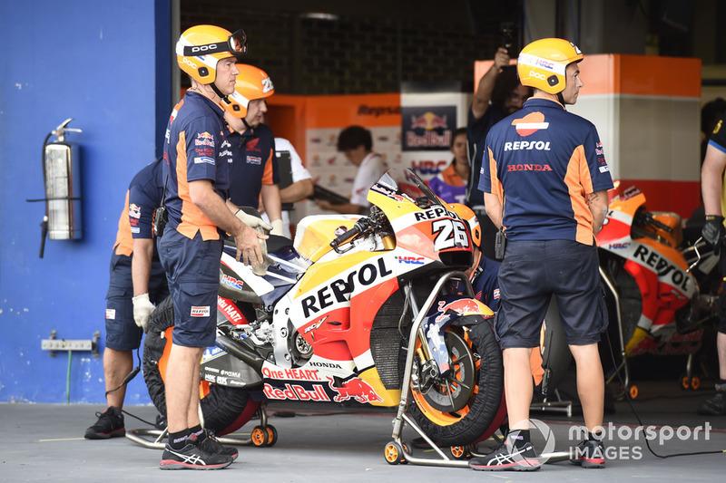 Dani Pedrosa, Repsol Honda Team bike