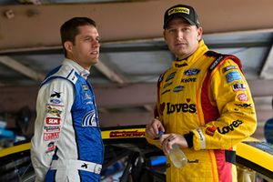 David Ragan, Front Row Motorsports, Ford Fusion MDS Transport and Michael McDowell, Front Row Motorsports, Ford Fusion Love's Travel Stops