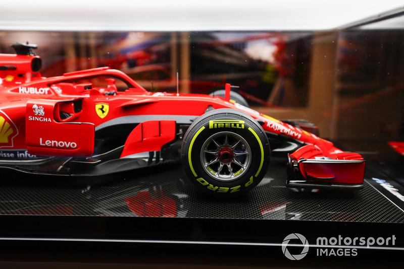 Il modellino di una Ferrari F1