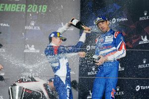 Third place overall Mikhail Aleshin, Jenson Button, SMP Racing