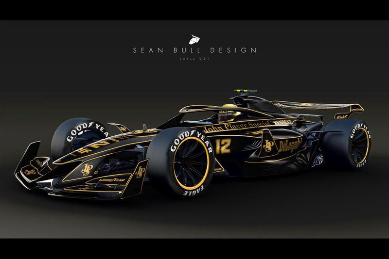 Раскраска JPS Lotus для концепта №3