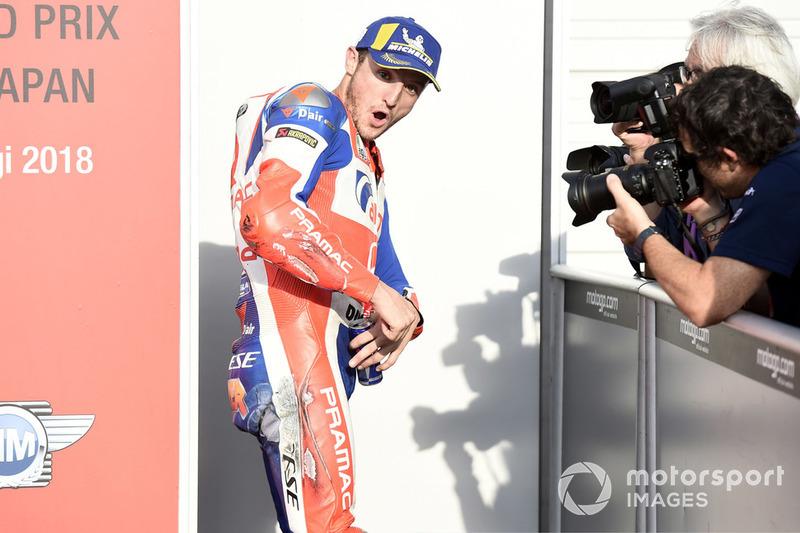 Jack Miller, Pramac Racing, scuffed leathers, Japanese MotoGP 2018