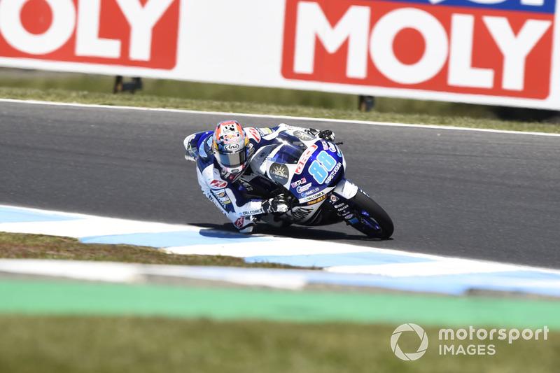 Moto3 Australia: Kualifikasi 1, finis 5