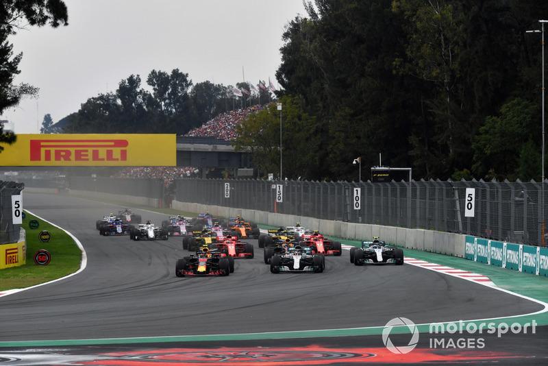 La victoria de Max Verstappen en el GP de México 2018:
