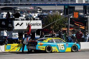 A.J. Allmendinger, Kaulig Racing, Chevrolet Camaro Andy's Frozen Custard, pit stop