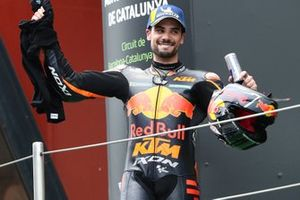 Podium: race winner Miguel Oliveira, Red Bull KTM Factory Racing