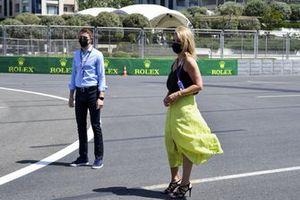 Rachel Brookes, Sky TV and Paul di Resta, Sky TV