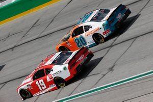 Brandon Jones, Joe Gibbs Racing, Toyota Supra Toyota, Harrison Burton, Joe Gibbs Racing, Toyota Supra Offerpad Awesome Different