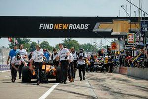 Patricio O'Ward, Arrow McLaren SP Chevrolet signe la pole