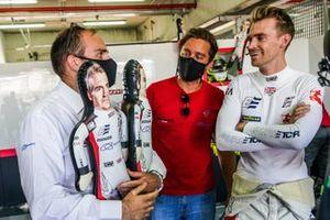 Antonio Caruccio, PR Romeo Ferraris-M1RA, con Stefano Coletti e Oliver Webb