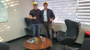 Diego Nunes e Eduardo Menossi