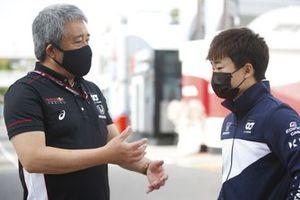 يوكي تسونودا، ألفا تاوري وماساشي ياماموتو، رئيس هوندا موتورسبورت