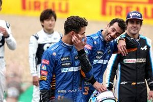 Lando Norris, McLaren and Daniel Ricciardo, McLaren