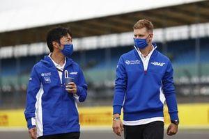 Айао Комацу, главный гоночный инженер Haas F1, Мик Шумахер, Haas F1