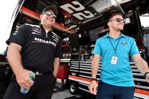 Austin Cindric, Team Penske, Ford Mustang Menards / Richmond, Brian Wilson