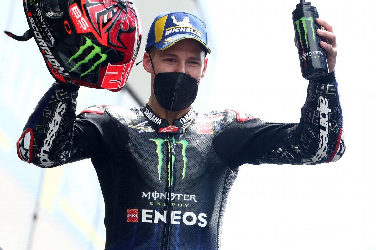 Tercer lugar Fabio Quartararo, Yamaha Factory Racing