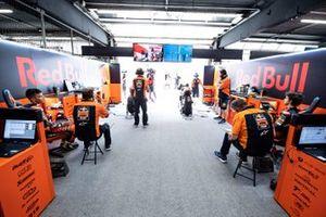 Red Bull KTM Ajo garage