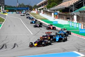 Ayumu Iwasa, Hitech Grand Prix, Caio Collet, MP Motorsport, Jak Crawford, Hitech Grand Prix