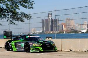 #39 CarBahn with Peregrine Racing Audi R8 LMS GT3, Richard Heistand, Jeff Westphal