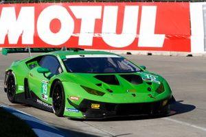 #19 GRT Grasser Racing Team Lamborghini Huracan GT3, GTD: Misha Goikhberg, Marco Mapelli