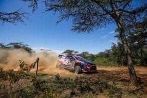 Oliver Solberg, Aaron Johnston, Hyundai 2C Competition Hyundai i20 Coupe WRC