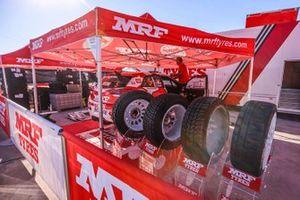 Collaborazione BRC Racing Team e MRF Tyres