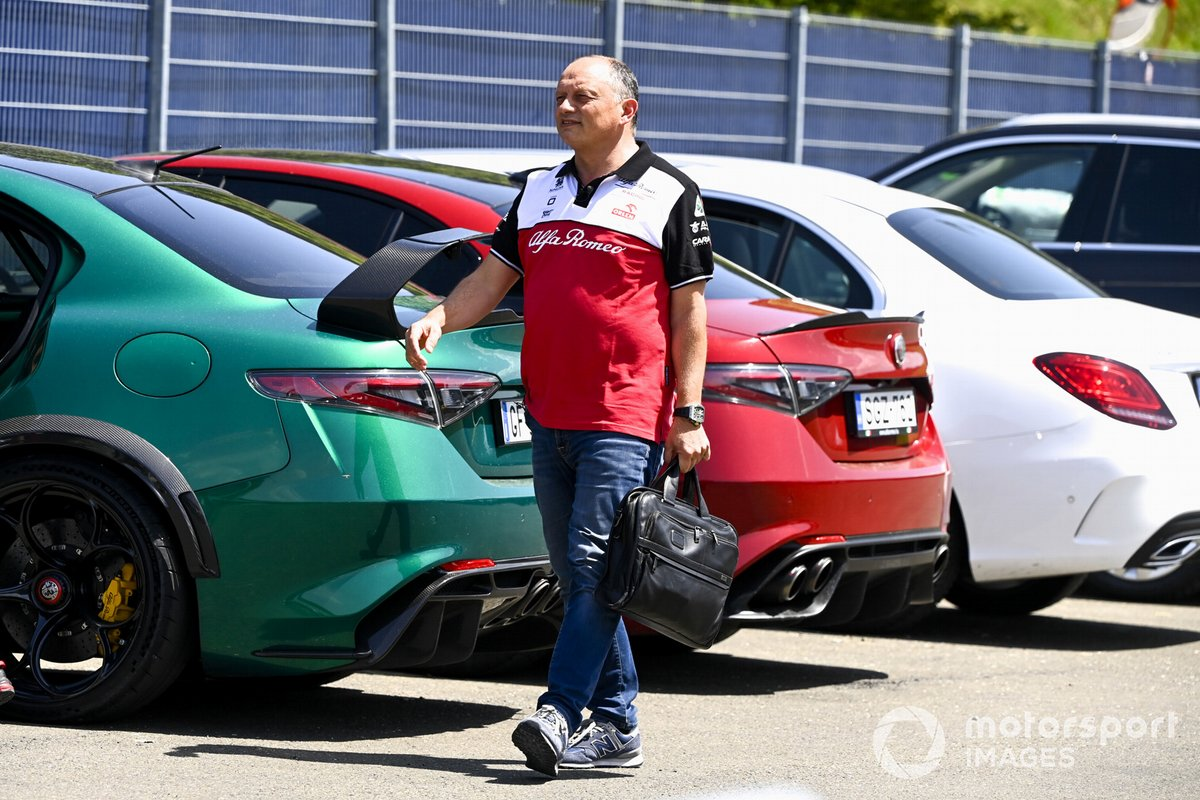 Frederic Vasseur, director del equipo Alfa Romeo Racing
