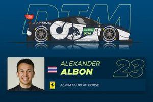 Alex Albon, AF Corse
