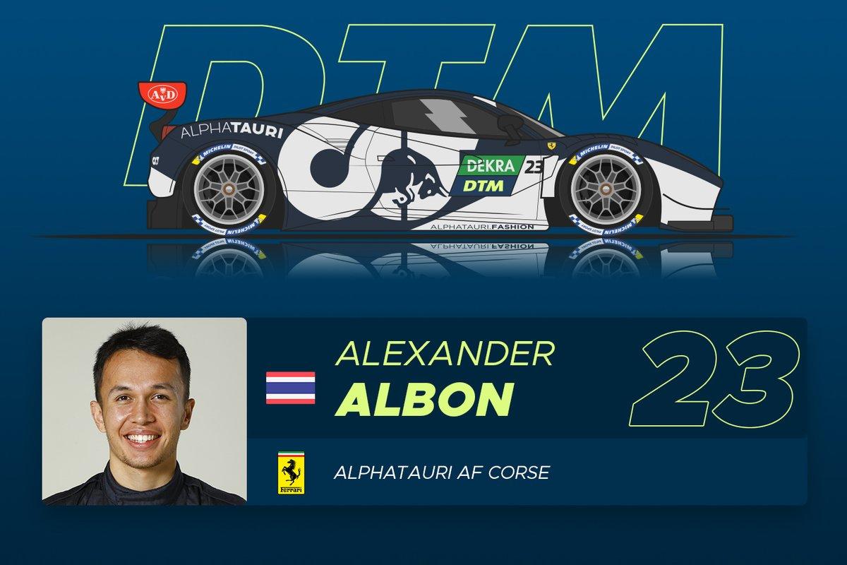 #23 Alex Albon (25) - Ranking: ******** (8 Sterne)