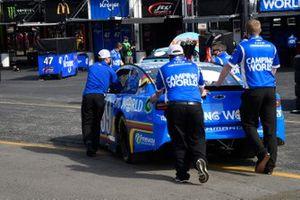 Daniel Suarez, TrackHouse Racing, Chevrolet Camaro Camping World Throwback