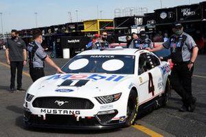 Kevin Harvick, Stewart-Haas Racing, Ford Mustang Mobil 1 Throwback