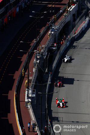 Lucas Di Grassi, Audi Sport ABT Schaeffler, Audi e-tron FE07, Oliver Rowland, Nissan e.dams, Nissan IMO2, Edoardo Mortara, Venturi Racing, Silver Arrow 02