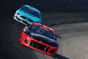 Garrett Smithley, Rick Ware Racing, Chevrolet Camaro, B.J. McLeod, Live Fast Motorsports, Ford Mustang Surface Sunscreen