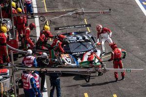 Podio: #83 AF Corse Ferrari 488 GTE EVO: Francois Perrodo, Nicklas Nielsen, Alessio Rovera
