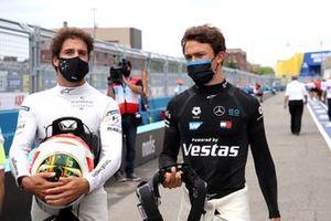 Antonio Felix Da Costa, DS Techeetah, DS E-Tense FE20, Nyck de Vries, Mercedes-Benz EQ, Mercedes-Benz EQ Silver Arrow 02