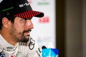 Lucas Di Grassi, Audi Sport ABT Schaeffler, third position, in the Press Conference