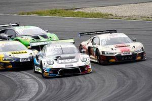 #74 Ku?s Team Bernhard Porsche 911 GT3 R: Jannes Fittje, Dylan Pereira, #54 Yaco Racing Audi R8 LMS: Simon Reicher, Norbert Siedler