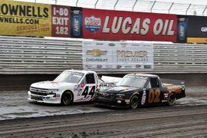 Chris Windom, Young's Motorsports, Chevrolet Silverado TMC and Morgan Alexander, Niece Motorsports, Chevrolet Silverado Geneva Farms