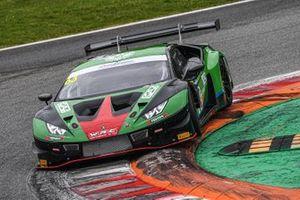 #63 Imperiale Racing, Lamborghini Huracán GT3 Evo: Alex Frassineti, Luca Ghiotto