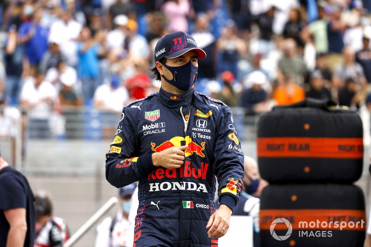 Le Castellet: Sergio Perez (Red Bull)