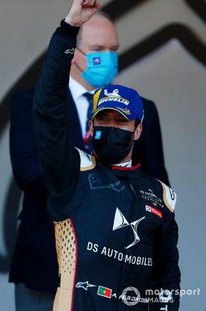 Race winner Antonio Felix Da Costa, DS Techeetah