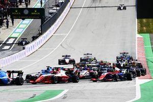 Caio Collet, MP Motorsport, Dennis Hauger, Prema Racing, Calan Williams, Jenzer Motorsport, David Schumacher, Trident, Enzo Fittipaldi, Charouz Racing System