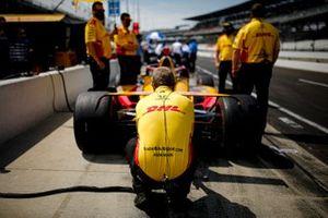 Ryan Hunter-Reay, Andretti Autosport Honda crew members