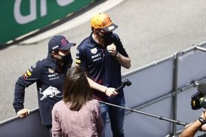 Sergio Perez, Red Bull Racing Max Verstappen, Red Bull Racing