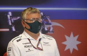 Otmar Szafnauer, Team Principal and CEO, Aston Martin F1, in the Team Principals Press Conference