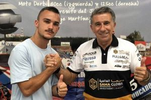 Aron Canet, Ángel Nieto Team with Jorge Martínez