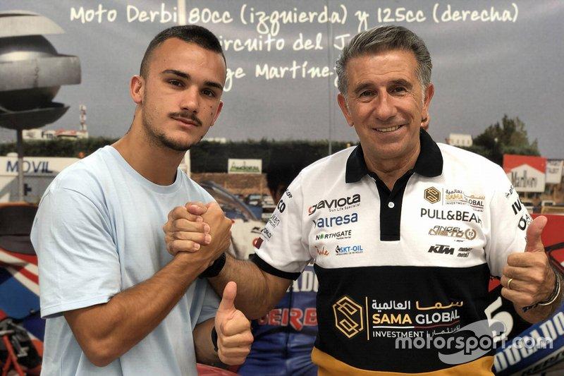 #44 Aron Canet, Ángel Nieto Team