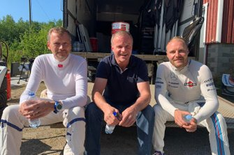 Valtteri Bottas is testing Toyota Yaris WRC